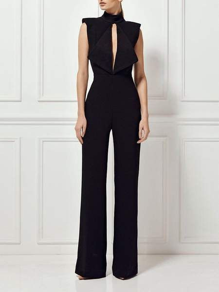 Color: Black Neckline: V-Neck fabric: Viscose & Polyester