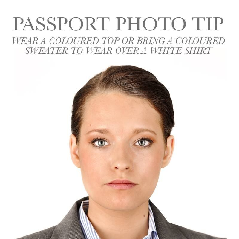Shirt Color For Passport Pictures