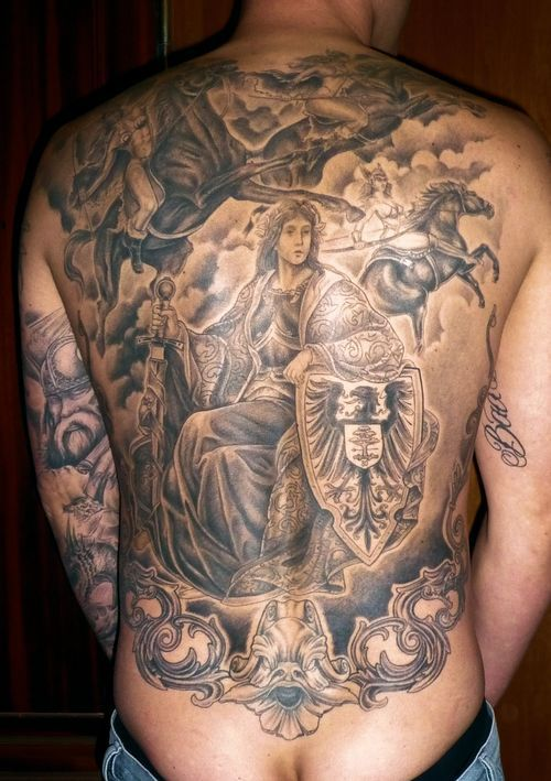 odin norse mythology tattoo tattoos body piercings. Black Bedroom Furniture Sets. Home Design Ideas