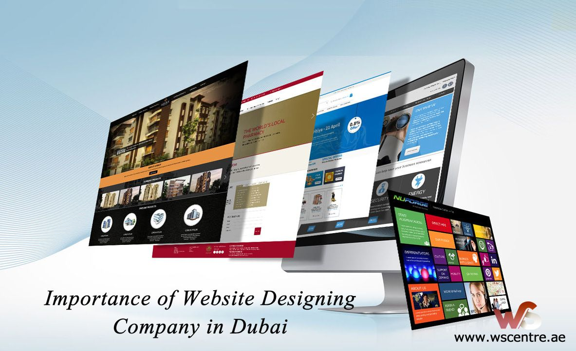 Importance Of Website Designing Company In Dubai Online Web Design Website Design Web Design Help