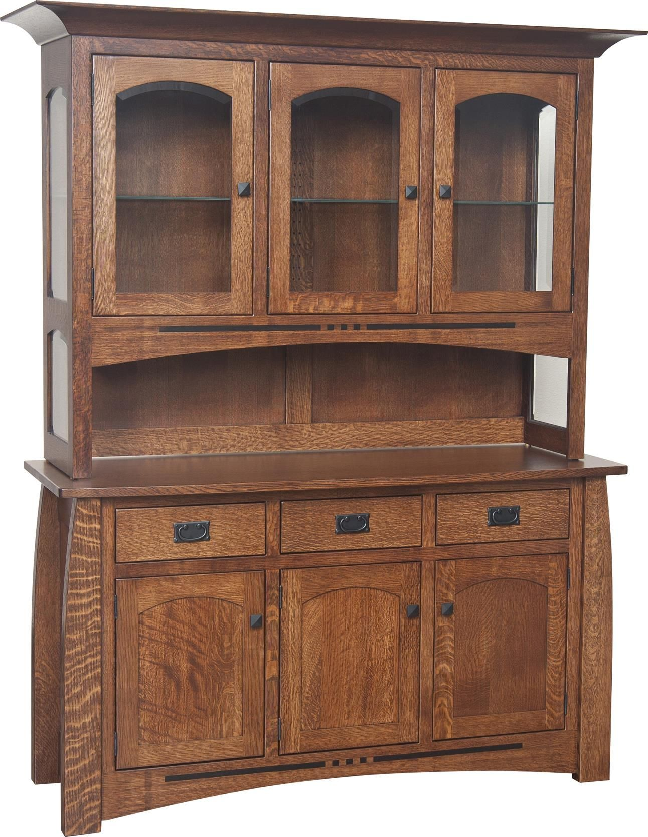 With Hutch By Amish Impressions Fusion Designs Available At Www Muellerfurniture Or In Mueller Furniture And Mattress St Louis