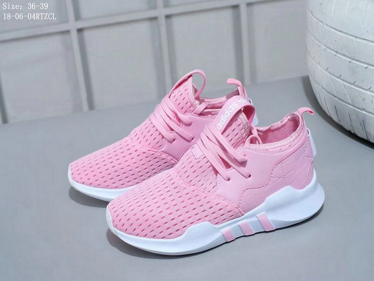 quality design 45d63 5814a Adidas EQT Support ADV Girls Grade School Pink White Shoe
