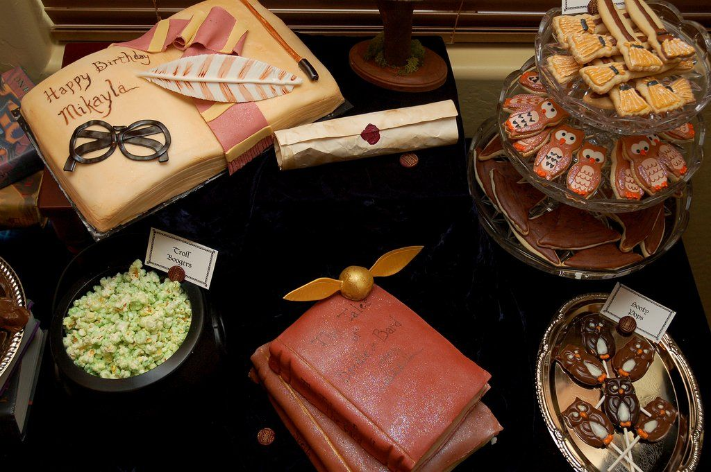 Harry Potter Dessert Table