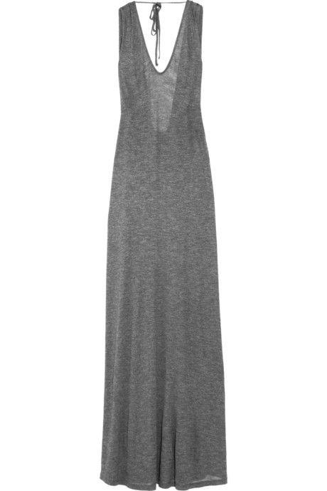 Molly open-back jersey maxi dress