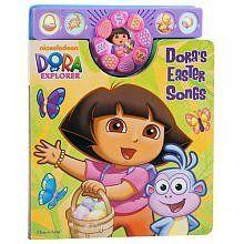 Dora The Explorer S Easter Songs By Editors Of Publications International Ltd Easter Songs Dora The Explorer Dora