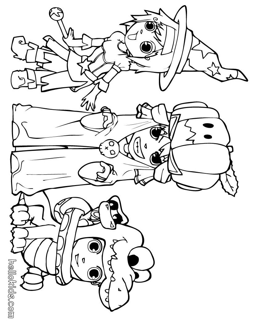 Halloween Coloring Pages Free Halloween Coloring Pages Ana