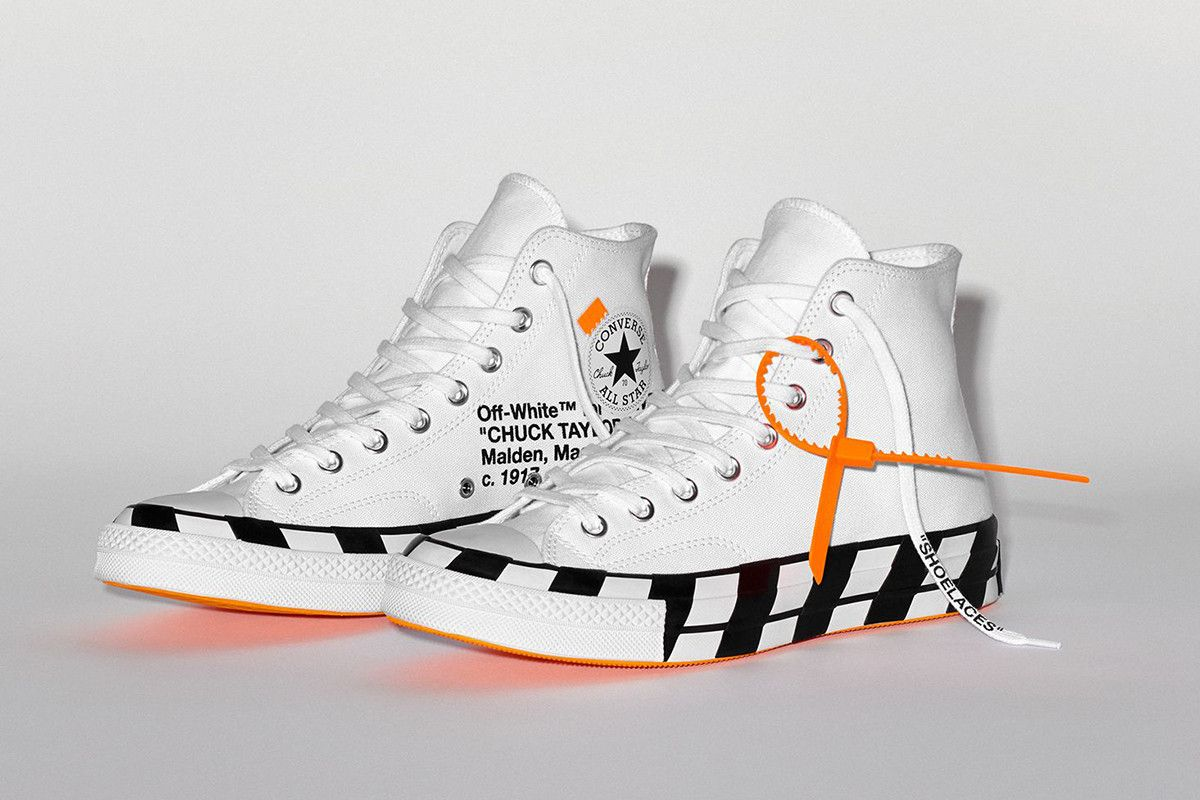 Off White X Converse Chuck 70 Buy Sell Now At Stockx Off White Converse Off White Shoes Converse
