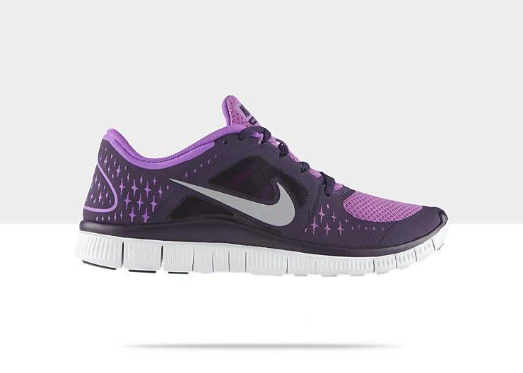 Nike Free Run+ 3 plata