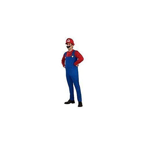 Amazon.co.jp | スーパーマリオ マリオ 衣装セット (Tシャツ/パンツ/帽子/髭) コスチューム | ホビー 通販
