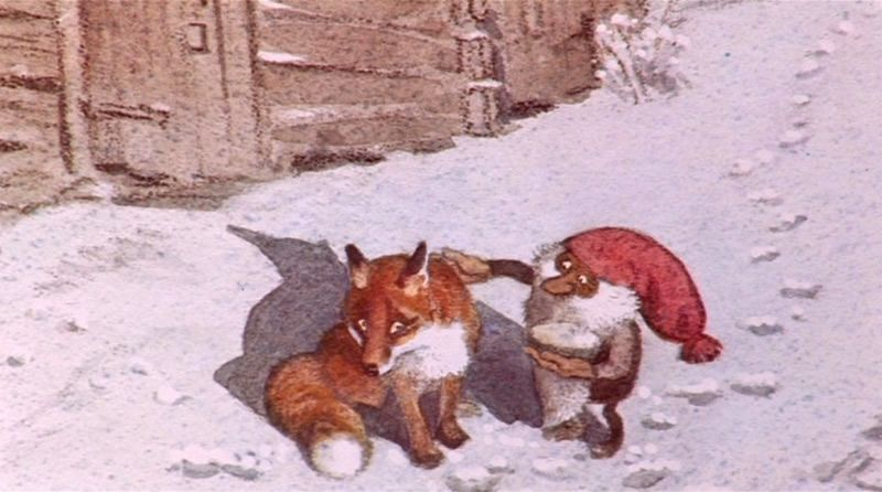The Tomten And The Fox By Astrid Lindgren And Illustrated By Harald Wiberg Gnomes Forest Creatures Illustrators