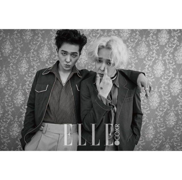 WINNER Song Mino and Nam Tae Hyun - Elle Magazine April ...