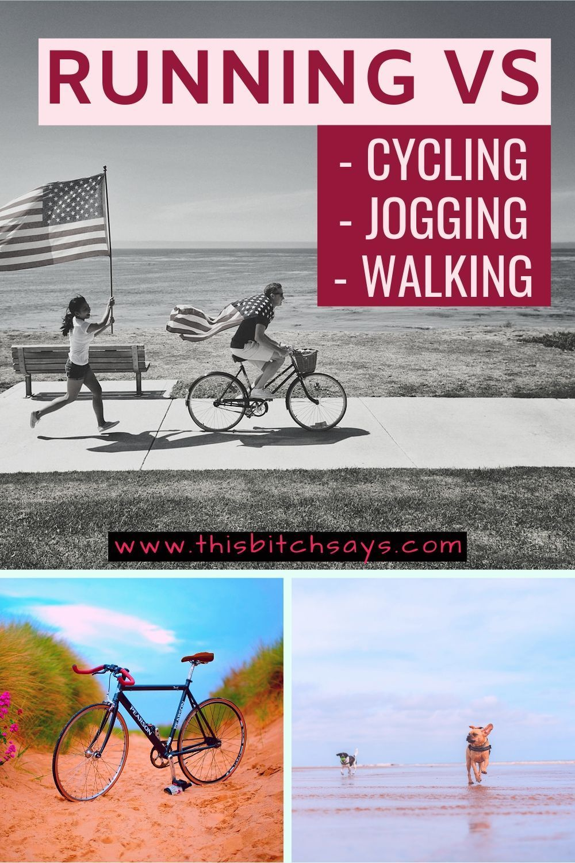Cardio Running Vs Cycling Jogging Walking Running Vs Walking