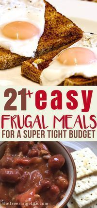 20+ Frugal Meals for When Money is Tight images