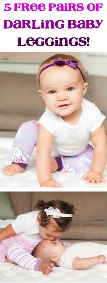 a94ad789e378 5 FREE Pairs of CUTE Baby Leggings!  just pay s h  - these leg ...
