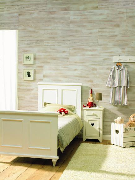 Decora tus paredes con frisos habitaciones leroymerlin revestimiento pared design - Alisar paredes leroy merlin ...