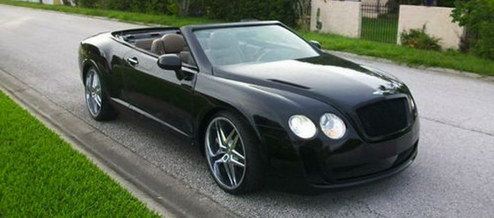 Convert Your Chrysler Sebring Convertible Into A Bentley With