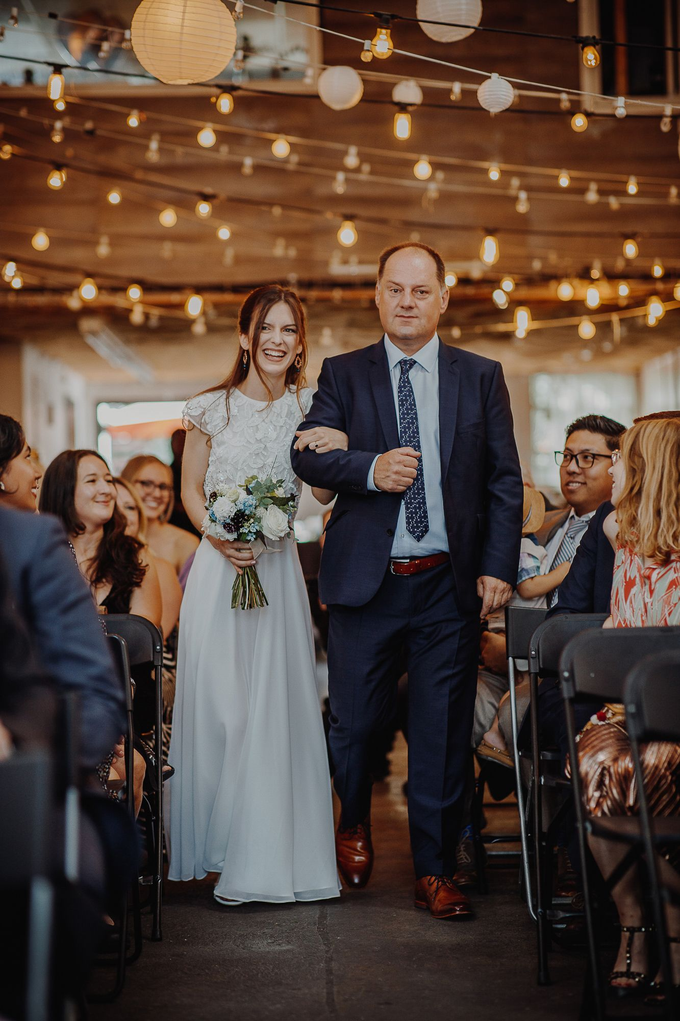 Bushwick Wedding at Bat Haus Hannah & Harris Brooklyn