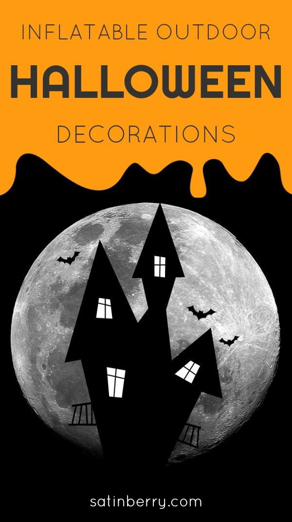 Inflatable Outdoor Halloween Yard Decorations Halloween Decor - pinterest halloween yard decor