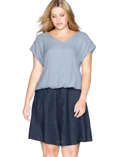 Verziertes Shirt von Zizzi. Jetzt entdecken: http://www.navabi.de/shirts-zizzi-verziertes-shirt-woll-weiss-30939-1600.html?utm_source=pinterest&utm_medium=social-media&utm_campaign=pin-it