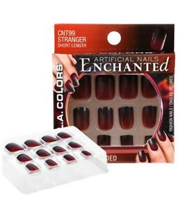 L.A. Colors Artificial Enchanted Glue On Short Halloween ...