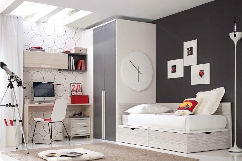 Dormitorio juvenil 4 jpg 844 563 habitaciones ni o - Dormitorio juvenil nino ...