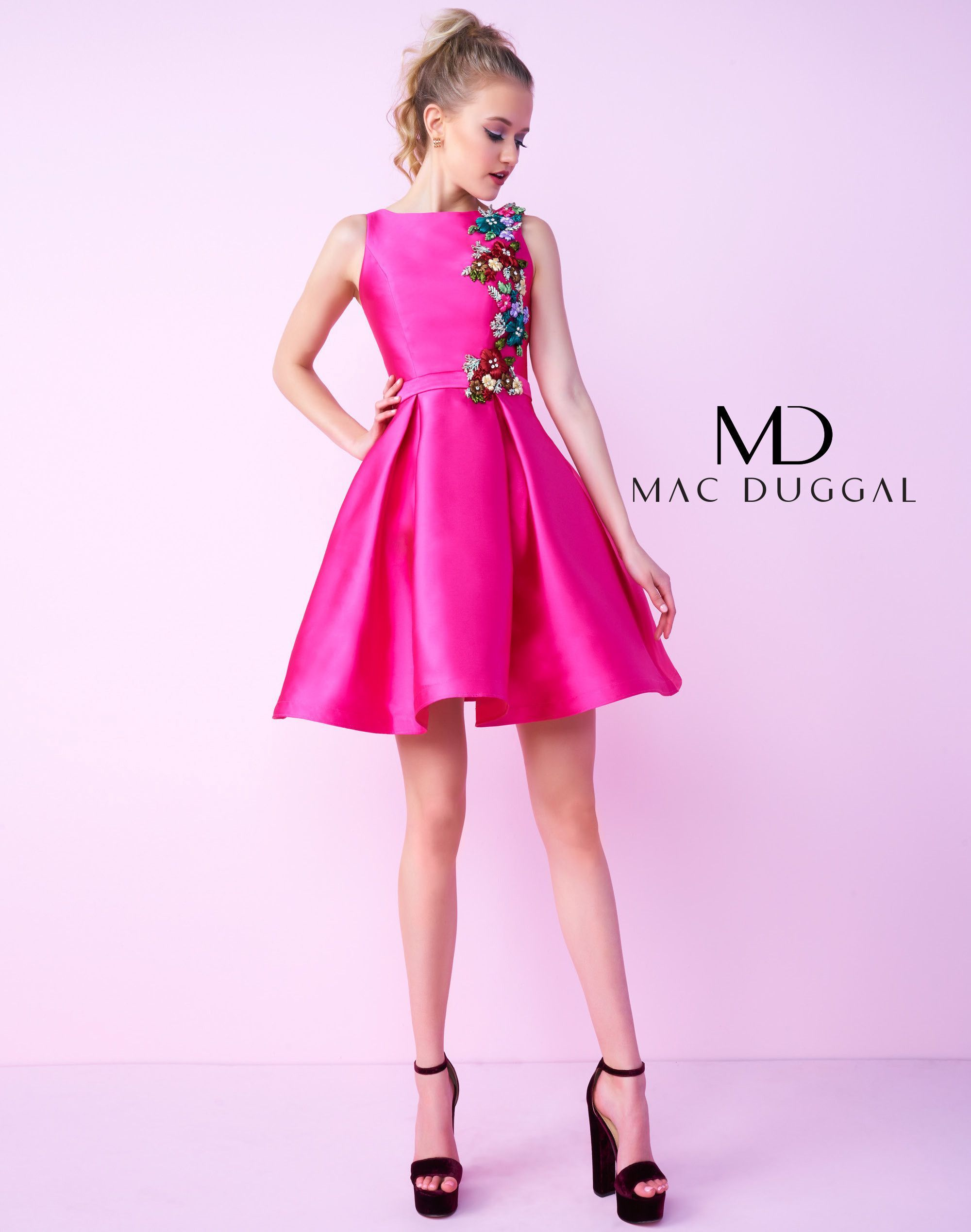 Mac Duggal Homecoming 66228N | Pageant dresses | Pinterest | Vestiditos