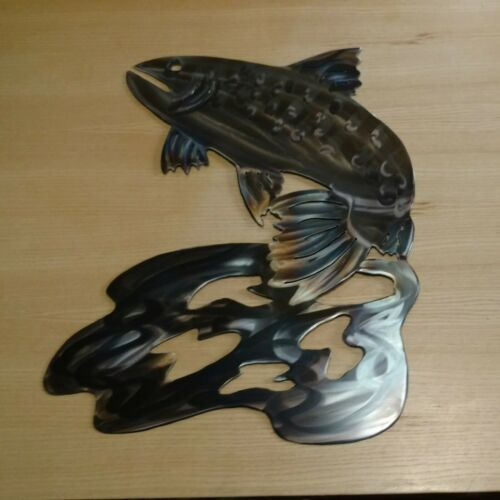 Metal Wall art fish sculpture indoor outdoor Patio deck porch garden wall art      The design of gardens, balconies and terraces is among the most popular themes here on. Today we have brought you a new Trend with which we bring the garden into our four walls. Indoor gardens are really big in coming, because a little more green in the house can never hurt. Especially not if the result looks as stylish as the ... #Art #deck #fish #Garden #Indoor #Metal #outdoor #Patio #porch #sculpture #wall #ind