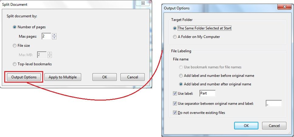 Tips How To Split Pdf Document With Page Range Easy Tips How To Split Pdf Documents