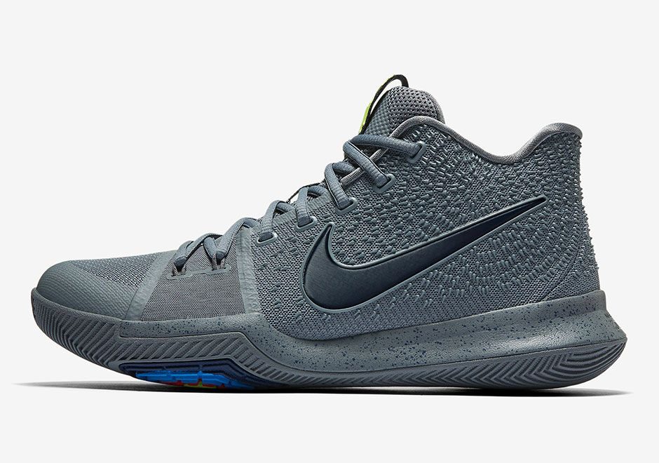 Nike Kyrie 3 Midnight Grey 852395-001 | SneakerNews.com