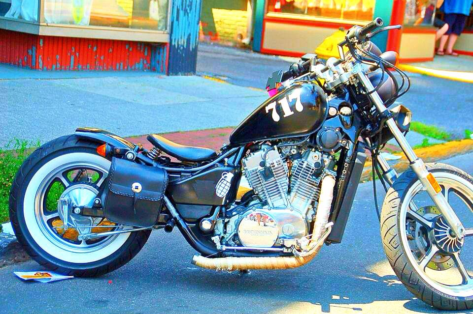 honda shadow vt700 bobber kit