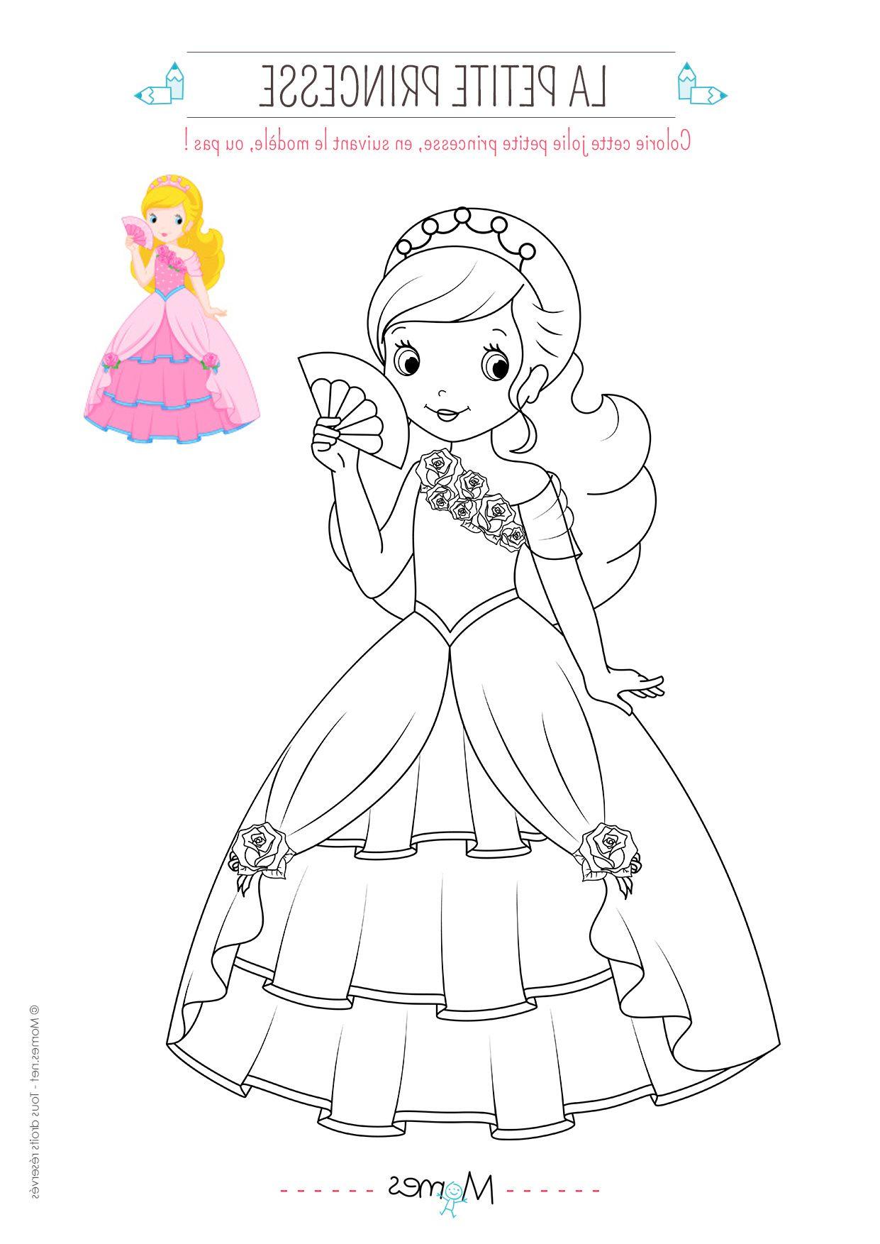 5 Idéal Coloriage De Princesses Pictures  Disney princess, Disney