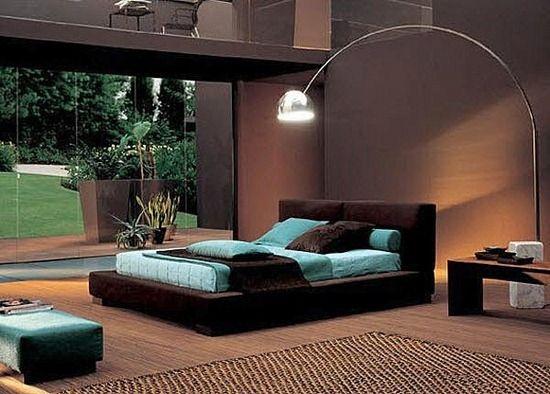 brun chocolat et blanc chambre des maîtres | déco appart et terrasse ...