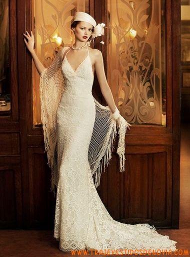 milan revival vintage vestido de novia yolan cris   vestidos de