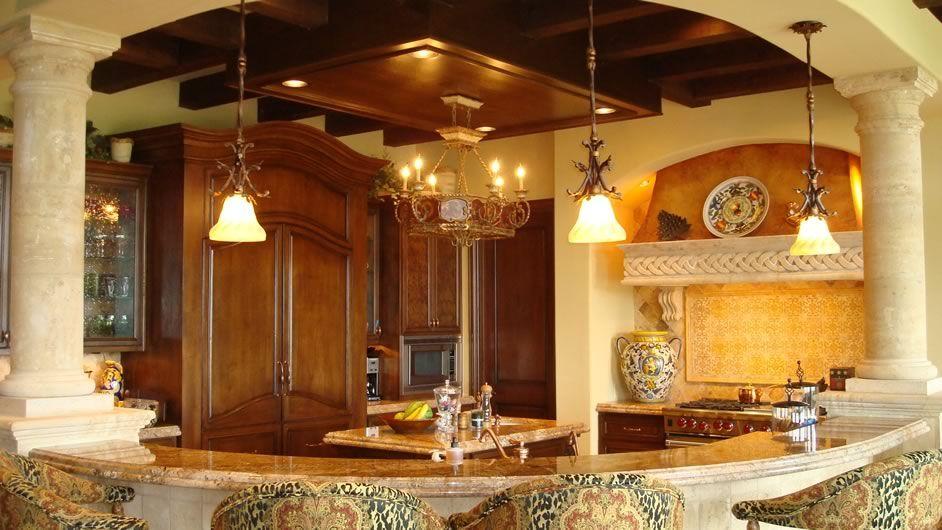 Reagal Luxury, Kitchen Design. NR Interiors San Antonio, TX.   THE ...