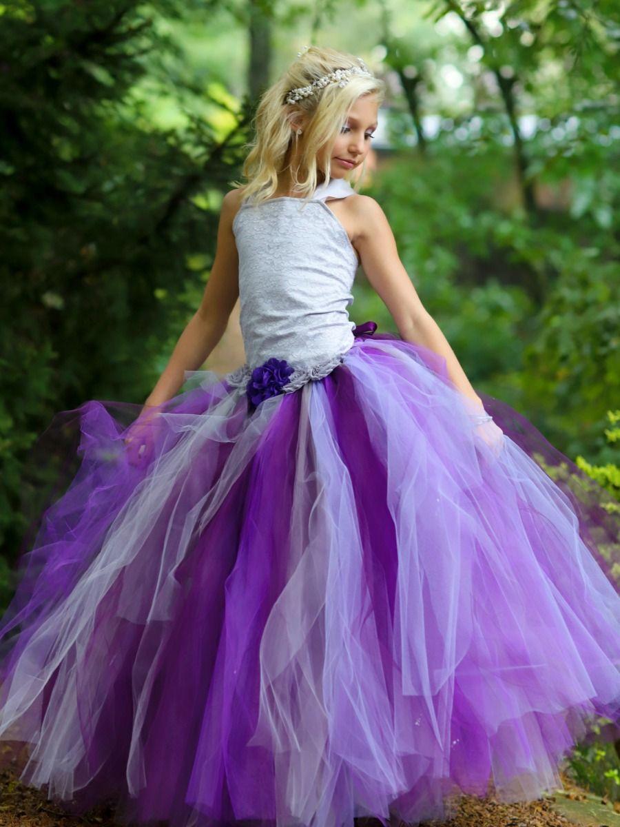 Flower Girls Can Do Ultra Violet Too Plum Flower Girl Dresses Flower Girl Dresses Purple Girls Dress [ 1200 x 900 Pixel ]
