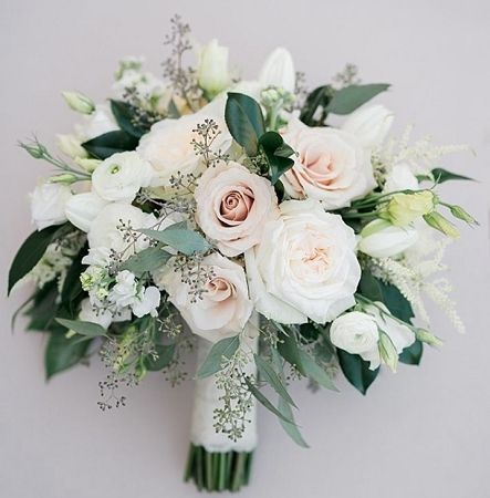 Brautstrauß Tiffany - Blumen Blog #bridalflowerbouquets