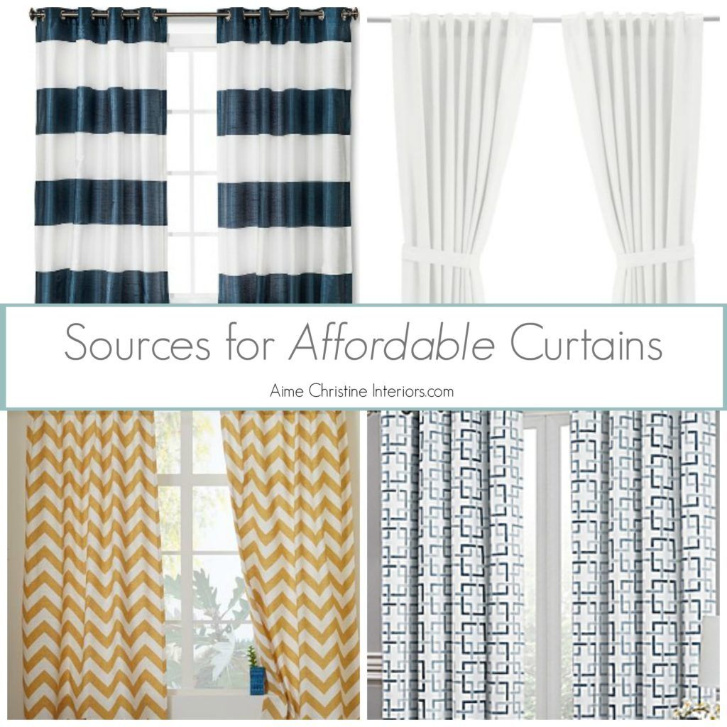10 Tips On How To Choose Curtains At AimeChristineInteriors