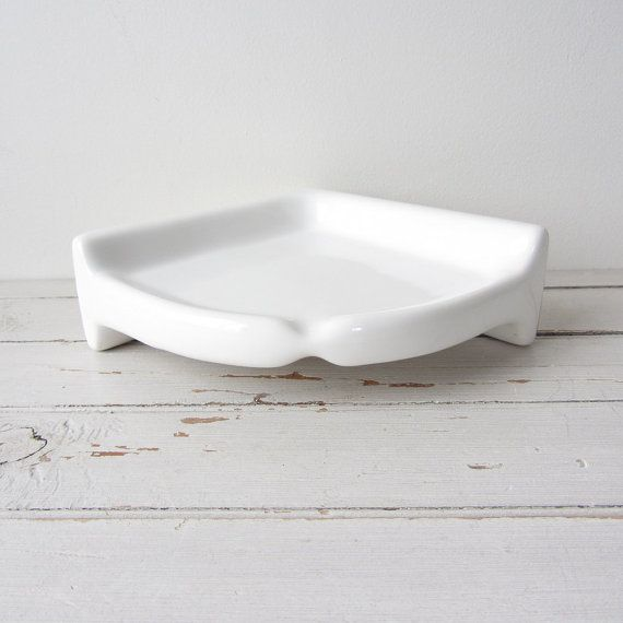 Vintage Corner Porcelain Soap Dish 1920s By Tintedvintage 35 00 Vintage House Dish Soap Vintage
