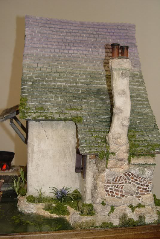 Witch's cottage side