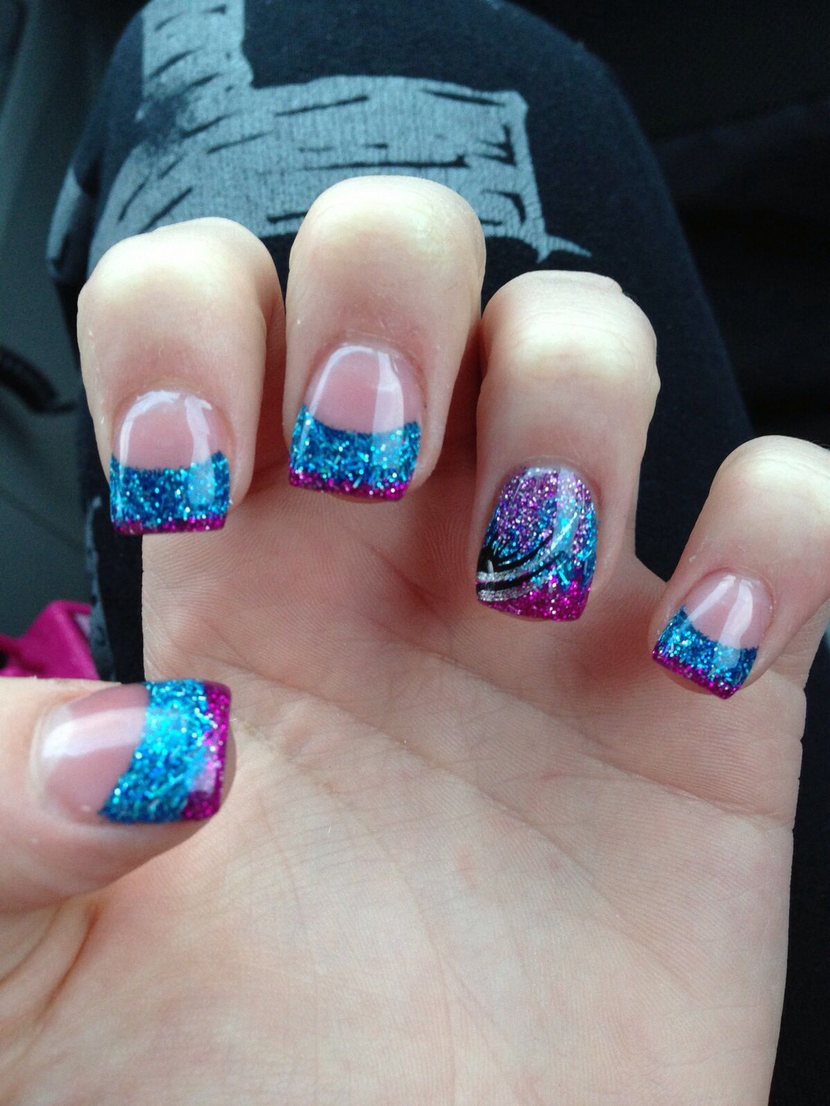 Perfect for my purple and blue wedding! | Wedding Day Beautification ...