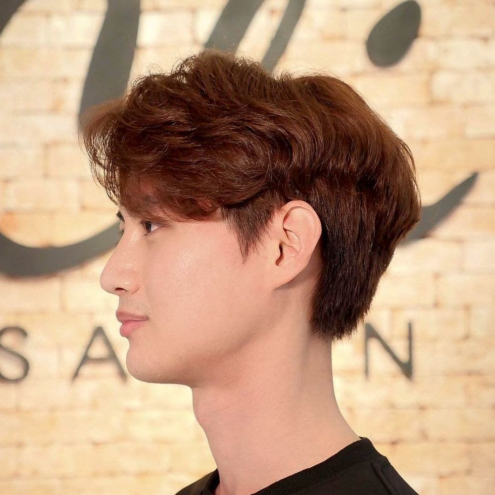 Perm Hairstyles For Men How To Style Best Products For Permed Hair In 2021 Perm Hair Men Permed Hairstyles Wavy Hair Men