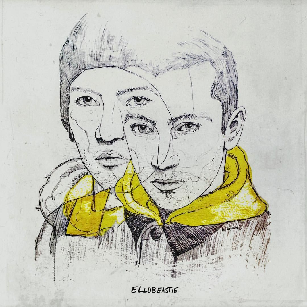 Joshua And Tyler Clique Art Twenty One Pilots Art
