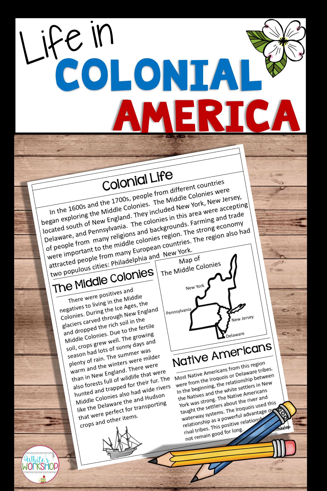 Colonial America Unit