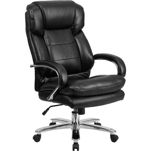 Parkside Series 24 7 Intensive Use Multi Shift Big And Tall 500 Lb Capacity Black Leather Executive Swivel Chair With Loop Arms Bellacor In 2021 Flash Furniture Office Chair Used Office Chairs
