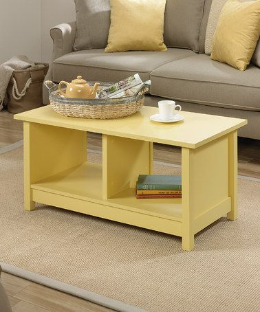 Best Take A Look At This Melon Yellow Coffee Table By Sauder On 400 x 300