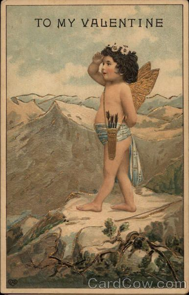 Cupid tarot card