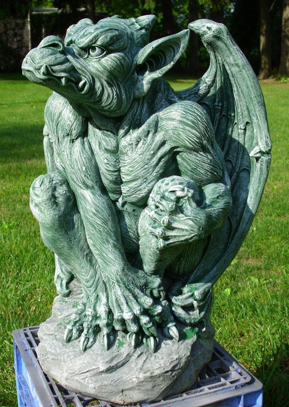 Asian garden statue mold