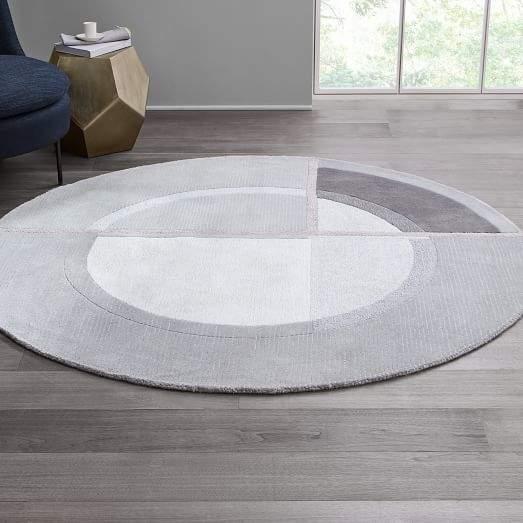 West Elm Ecliptic Round Rug Round Rugs Rugs Modern Furniture