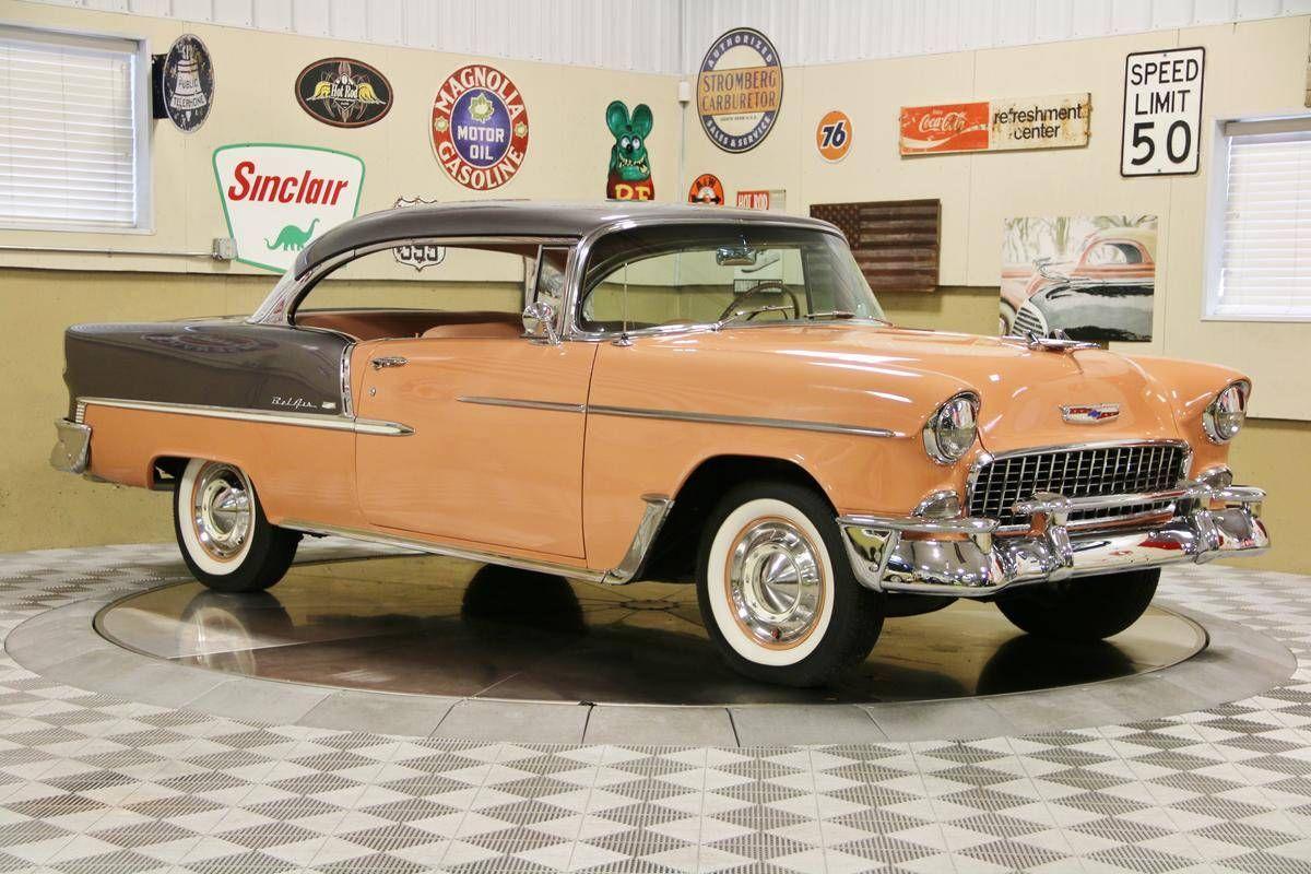 1955 Chevrolet Bel Air For Sale 2232156 Hemmings Motor News