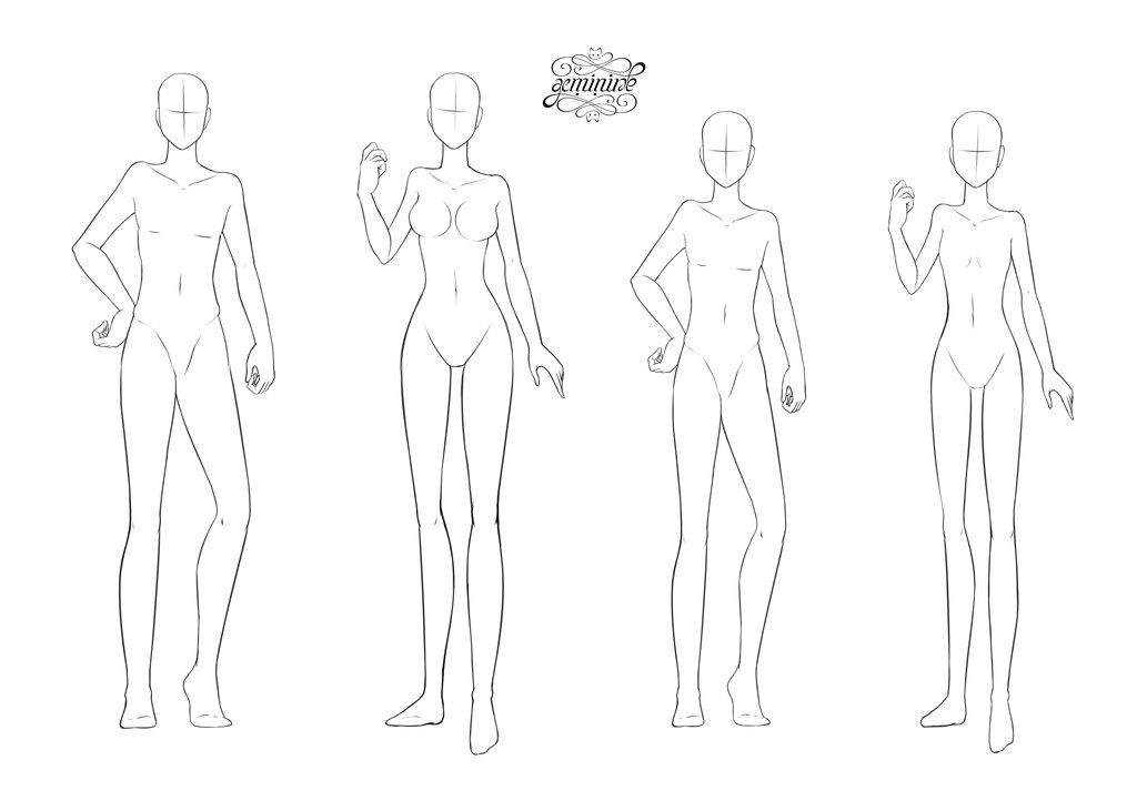 F2u Body Bases By Geminine Nyan Deviantart Com On Deviantart Female Base Fashion Figures Fashion Design Template Be sure to credit and tag the og creators if you use!! f2u body bases by geminine nyan